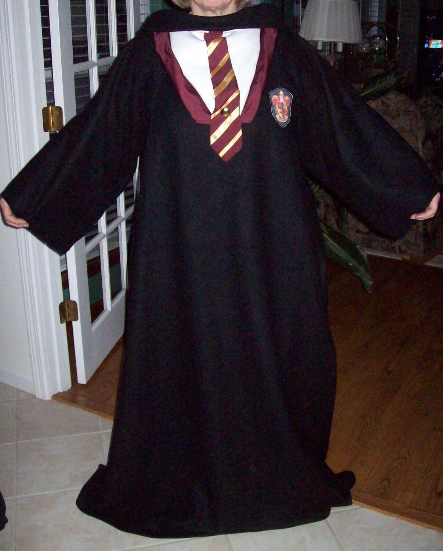 Gryffendor Harry Potter Style Snuggie / Blanket / Costume Robe