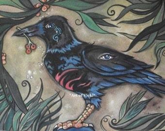 Raven Tattoo 2