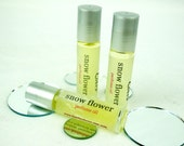 Snow Flower Perfume Oil - Fresh and Subtly Floral - .33 oz.