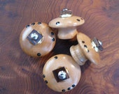 Hand Crafted Cabinet Kobs. Set of 5 Knobs For Linda.