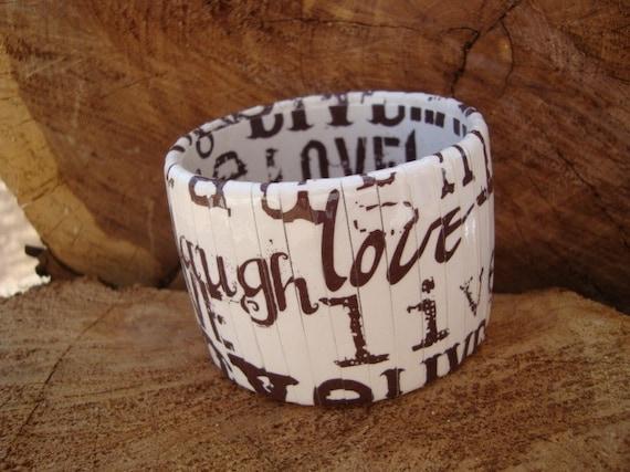 Live Love Laugh Bangle Bracelet