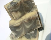 CLEARANCE SALE - Soap for Men - Pepper, Leather, and Mandarin - Brick