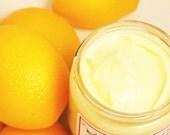Lemon Body Lotion - Lemon Sugar Cookie Body Cream - Milk and Honey Lotion - Lemon Lotion