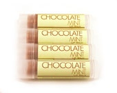 CLEARANCE SALE - Chocolate Mint Lip Balm - Peppermint Hot Cocoa - Thin Mint Chocolate
