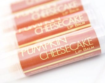 CLEARANCE SALE - Pumpkin Cheesecake Lip Balm - One Tube Lip Gloss