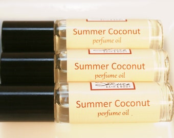 Coconut Perfume Oil Roll On Perfume - Vanilla Coconut Milk
