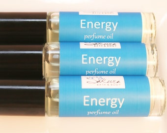 Energy Perfume Oil - Roll On Perfume Scented Oil