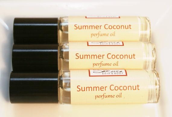 Coconut Perfume Oil Roll On Perfume - Vanilla Coconut Milk