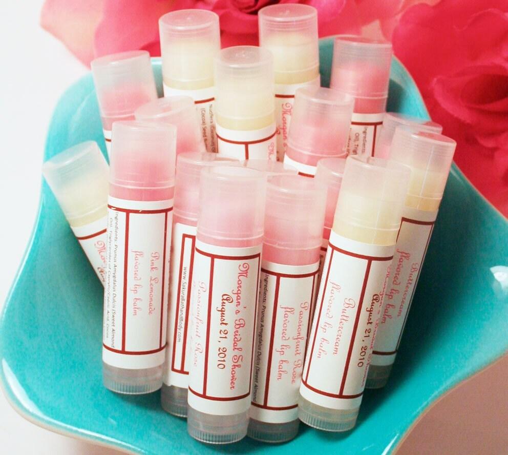 Lip Balm Wedding Favors - Locallygrownweddings.com