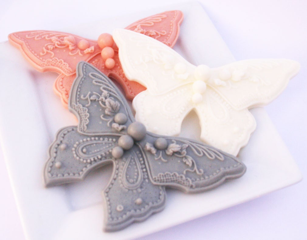 100 butterfly soap baby shower favors bridal by sakurabathandbody
