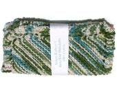 Hand Knit Dish Cloths  Emerald Isle