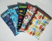 Diaper Pouch- Michael Miller Fabric- Five Fabric Choices