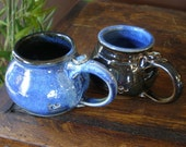 Two Cup Set in Two Blues