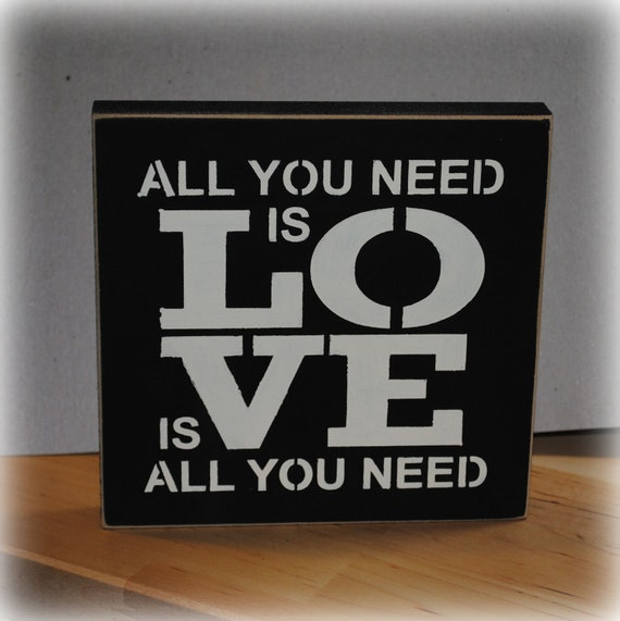 All You Need Is LOVE Is All You Need
