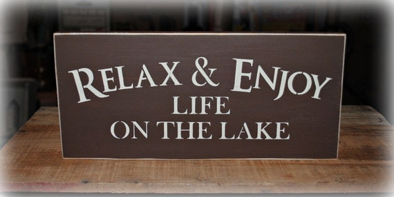 Relax and Enjoy Life on the Lake