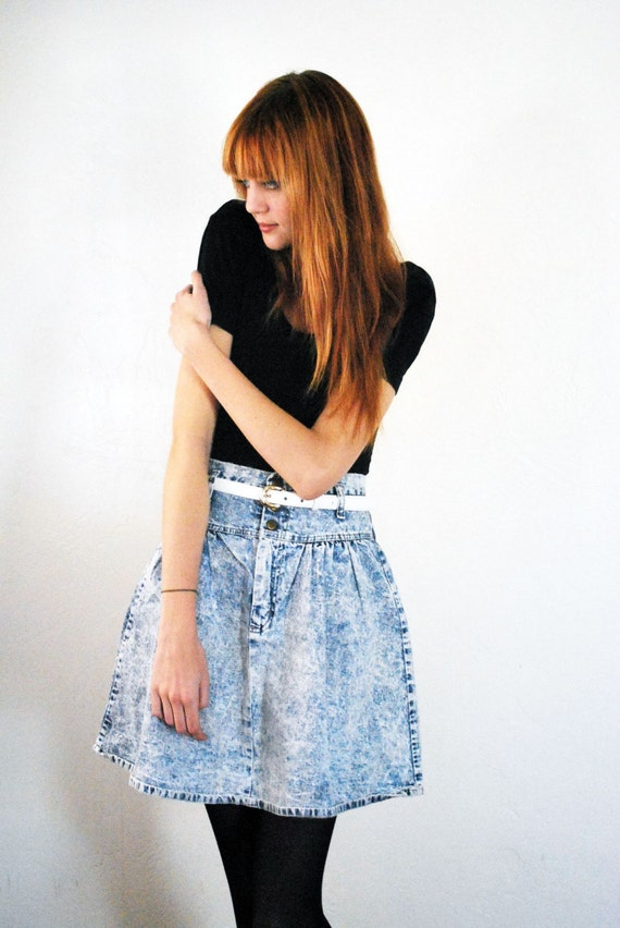 how to make a high waisted circle skirt