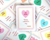 Personalized Sweetheart Valentine's Day Cards - Downloadable PDF