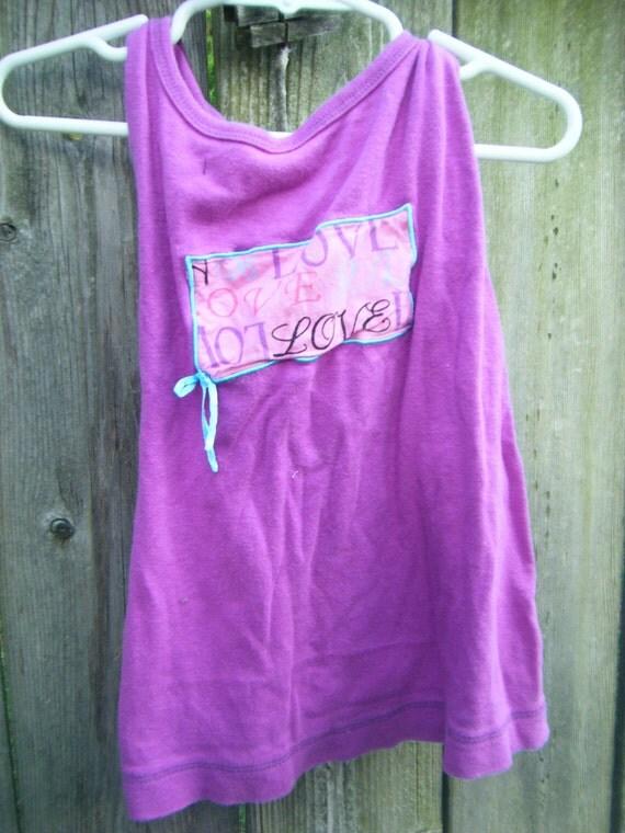 Love Bug Toddler Halter Dress