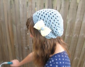 PDF, Slouchy Beanie Pattern, Crochet Beanie Pattern, Slouchy Hat, Crochet Hat