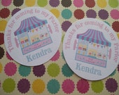 Ice Cream Parlor tags set of 12
