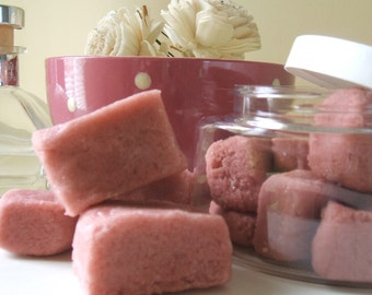 Old Rose  Vegan Sugar Cube Scrub
