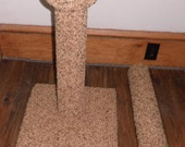 24 inch all carpet scratching post  with extra post