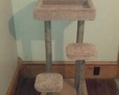 3 foot tall Rustic Cat Tree