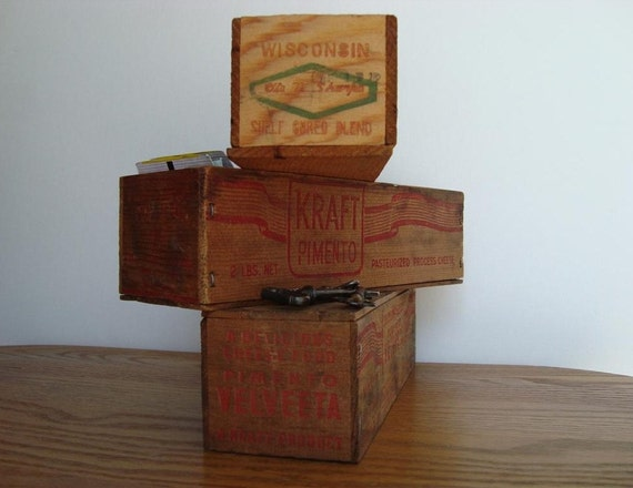 Cheese Box Trio Clearfield Cheese Curwensville Pa Kraft
