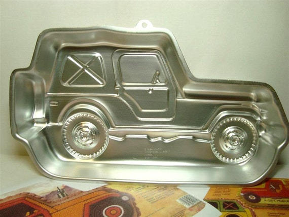 Jeep Cake Pan Wilton