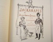 Vintage Children's Book  Jackanapes by Ewing Illustrated by Caldecott 1966