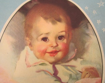Vintage Baby Book  Our Babies by Herman Bundesen 1952