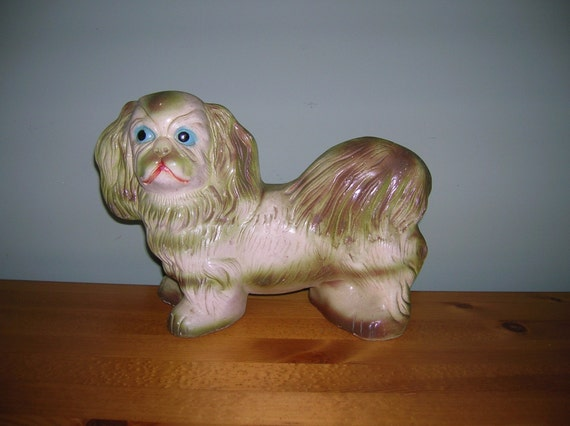 CHALKWARE Carnival Dog Pekinese
