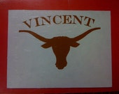 Texas Longhorns Painting