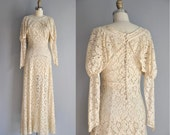 r e s e r v e d... vintage 1920s 20s wedding dress // 20s rare antique  lace wedding dress