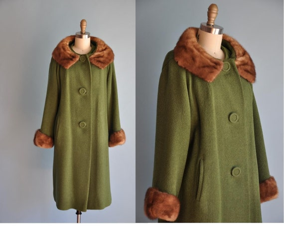 Mink Collar Coat