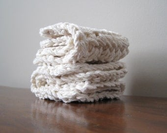 Organic Cotton Wash Cloths