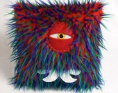Cyclops Monster Pillow