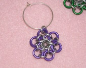 Chainmaille WineCharms set of 8