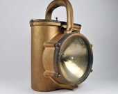 SALE Harris Brothers Mfg Co Railroad or Firemans lantern