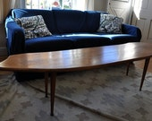 SALE (further reduced) Mid century wood coffee table