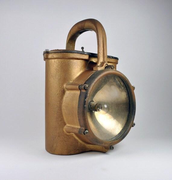 SALE Harris Brothers Mfg Co Railroad or Firemans lantern