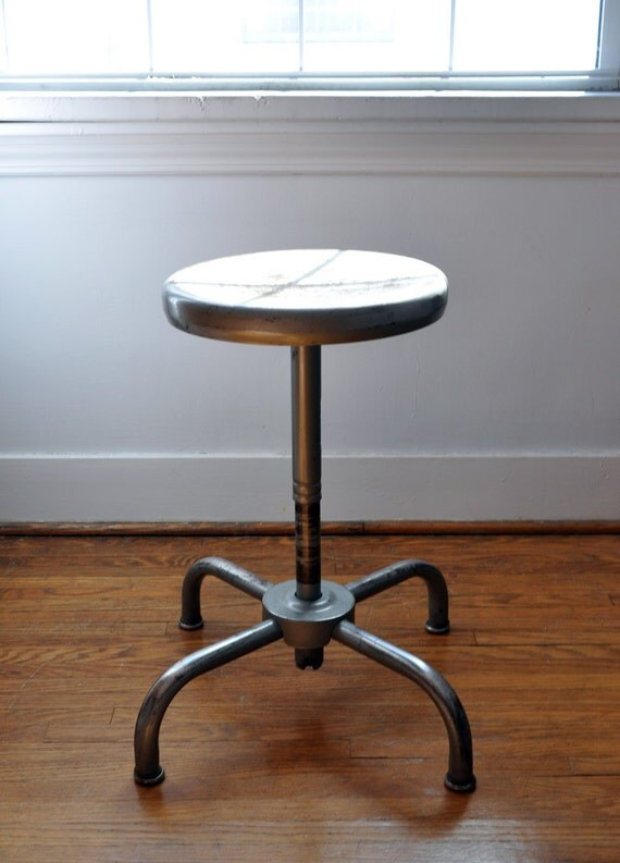 Industrial shop stool