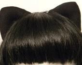 Original Magnetic/Attachable/Detachable/Bendable Tachi Ears - Black