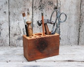 Medium Desk Caddy by Peg and Awl
