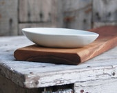 Baguette Board with Olive Bowl - Limited Edition Collaboration by Peg and Awl