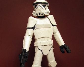 Cardboard Star Wars Stormtrooper II