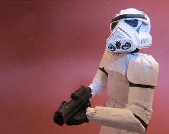 Cardboard Star Wars Stormtrooper I
