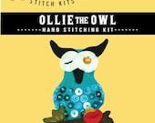 Ollie the Owl Stitch Kit
