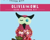 Olivia the Owl Stitch Kit