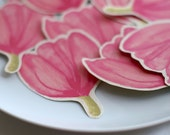 Pink Tulips. Place cards - escort cards - decoration - events - weddings